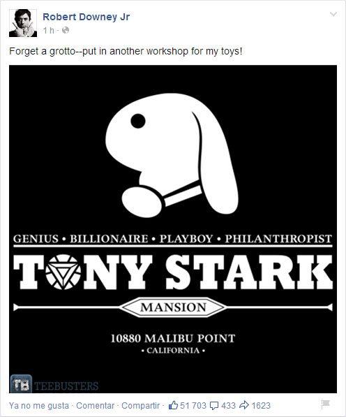 Robert Downey Jr - Tony Stark Mansion