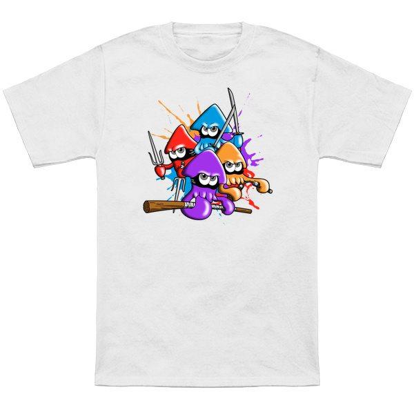 Teenage splatter ninja squids.