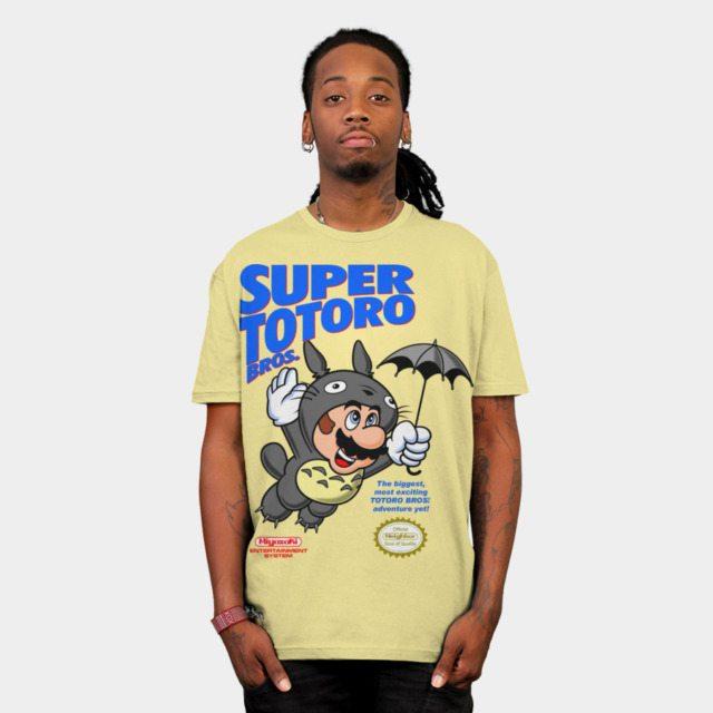 Super Totoro Bros.