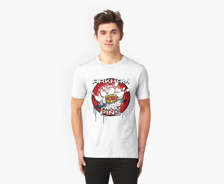 Arkham King Pins – Bowling Team T-shirt