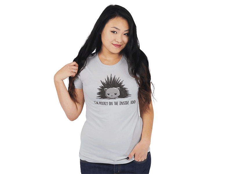 Prickly on the Inside | Funny & cute shirts