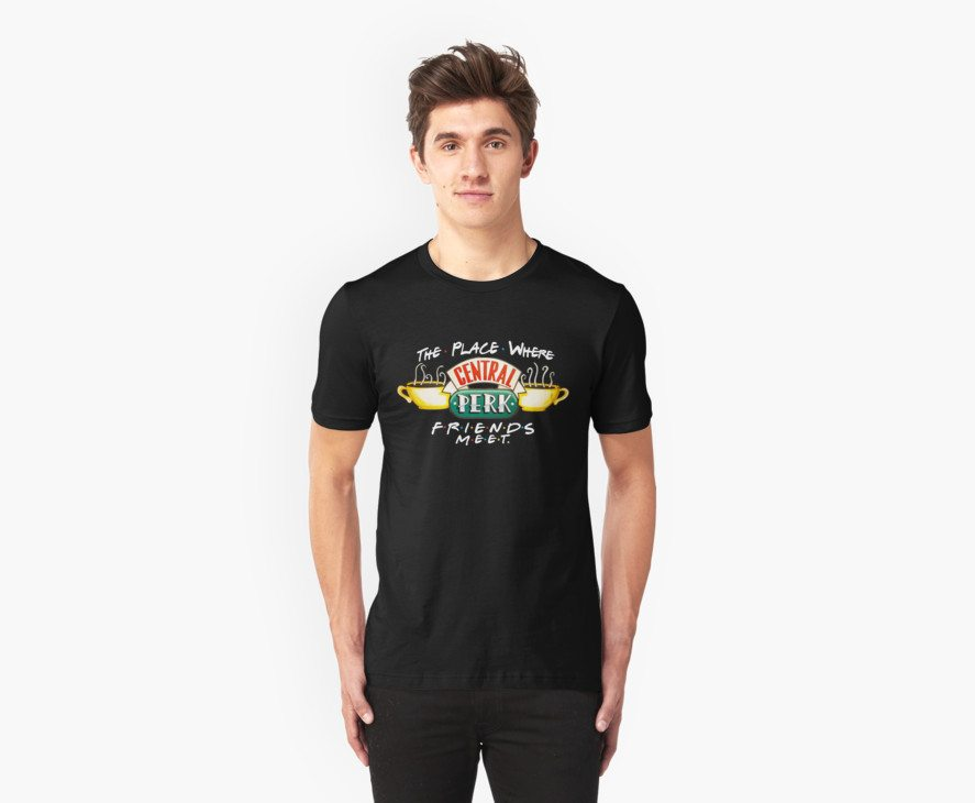 Central Perk Coffee – For Dark Shirts