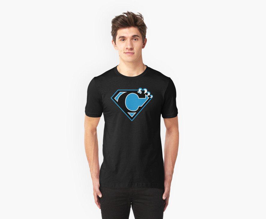 Carolina Panthers Superman Cam Newton