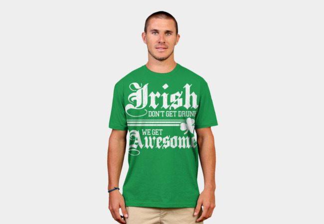 Funny Irish Drinking Shirt