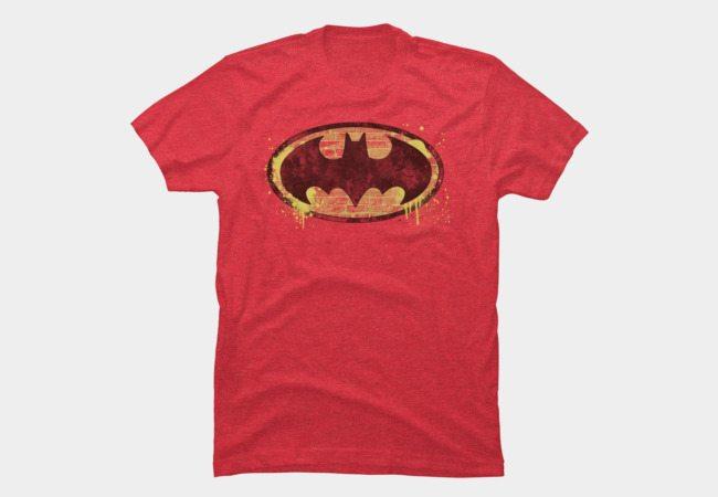 Batman Brick Splatter Logo