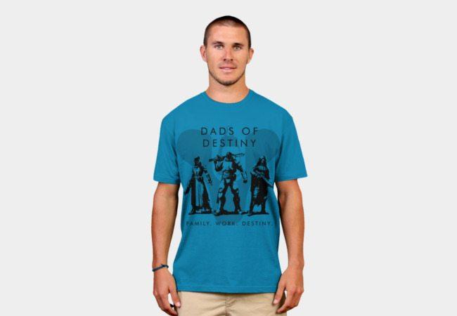 dc6b0dad5 Dads of Destiny Clan Tee T-Shirt - TeeHunter.com