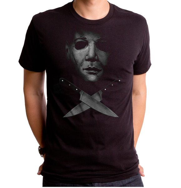 Halloween Crossed Knives Men's T-Shirt
