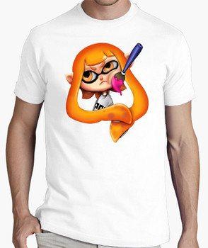 Splatoon orange girl