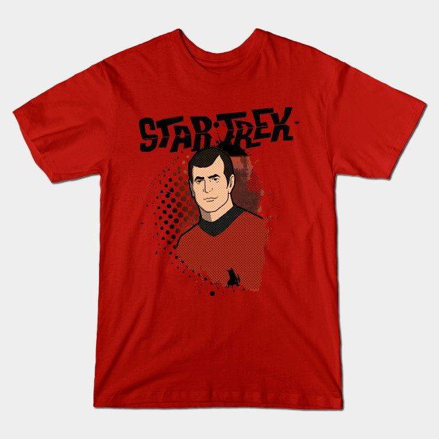Star Trek Animated Grunge Scotty
