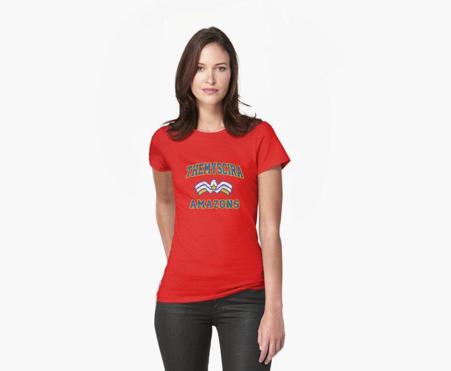 Wonder Woman – American Football Style