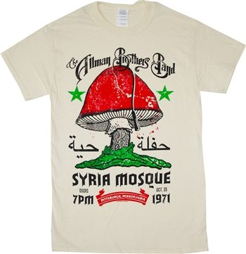 Allman Brothers Band at Syria Mosque Concert T-Shirt
