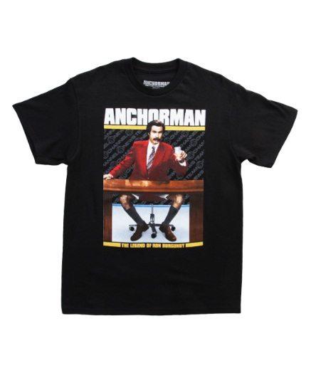Anchorman The Legend of Ron Burgundy T-Shirt