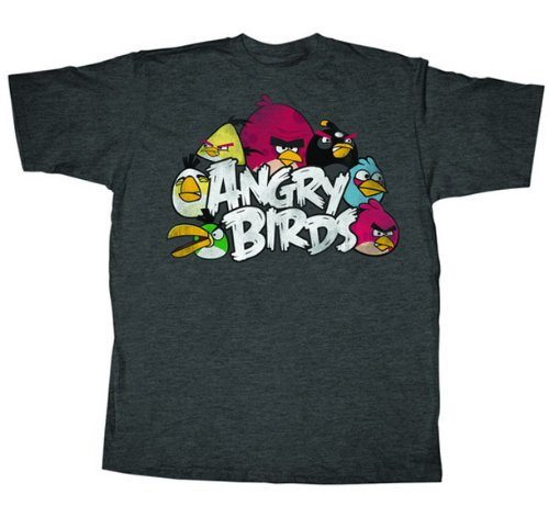 Angry Birds The Nest Charcoal Heather