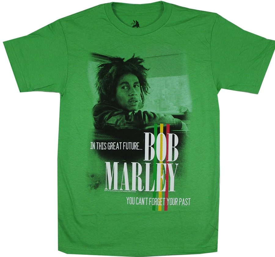 Bob Marley You Can't Forget Your Past T-Shirt