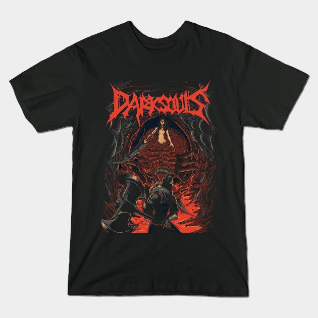 Chaos Witch – Another Unofficial Dark Souls Metal Band Tee