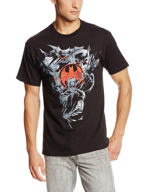 DC Comics Men's Batman Red Signal