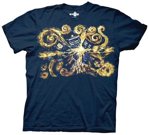 Doctor Who Van Gogh The Pandorica Opens T-Shirt