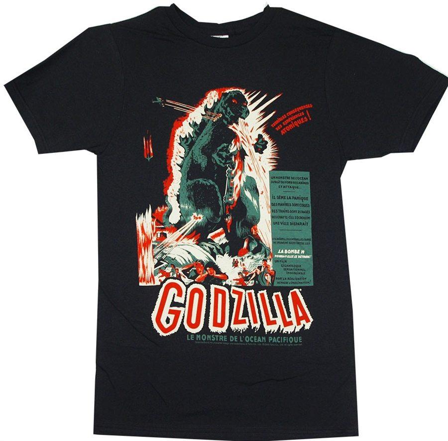 Godzilla Vintage Poster T-Shirt