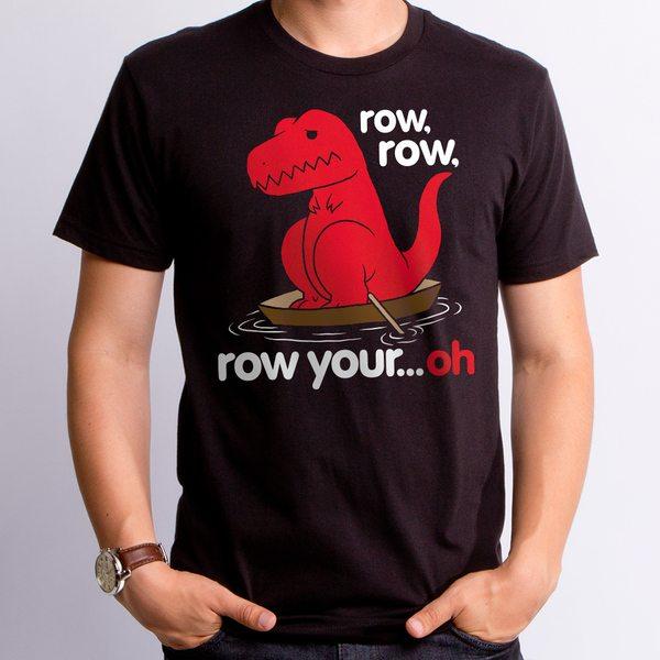 Guys Row Your Oh Sad Dino T-Shirt