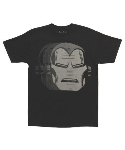 Iron Man Mask Repeat T-Shirt