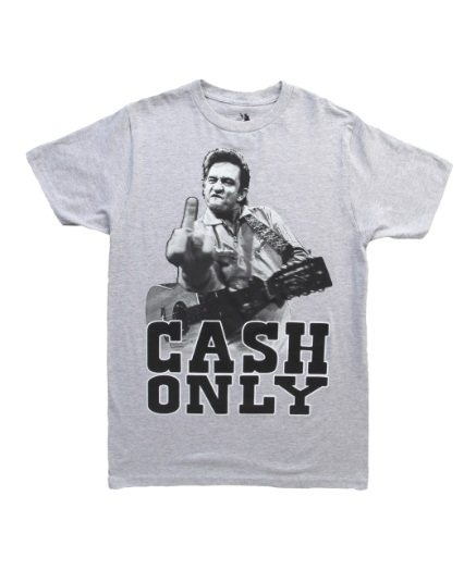 Johnny Cash Cash Only T-Shirt