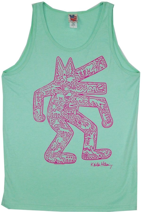 Keith Haring Dancing Monster Tank by Junk Food