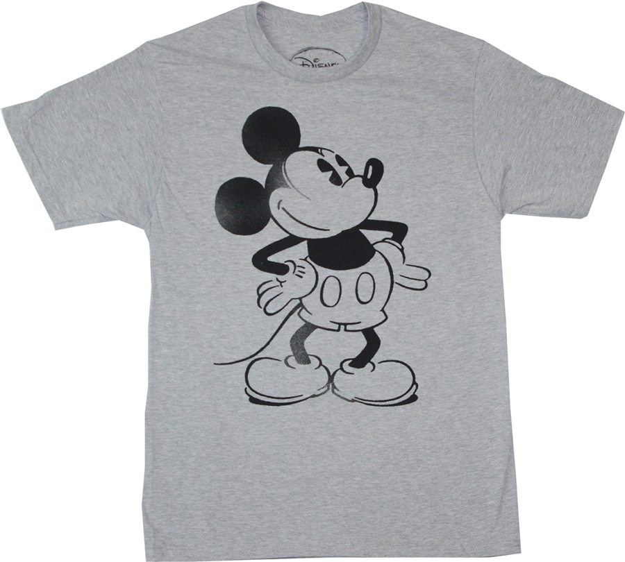 Mickey Mouse Stencil T-Shirt