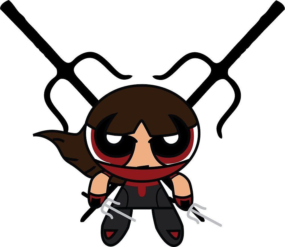 Powerpuff Elektra