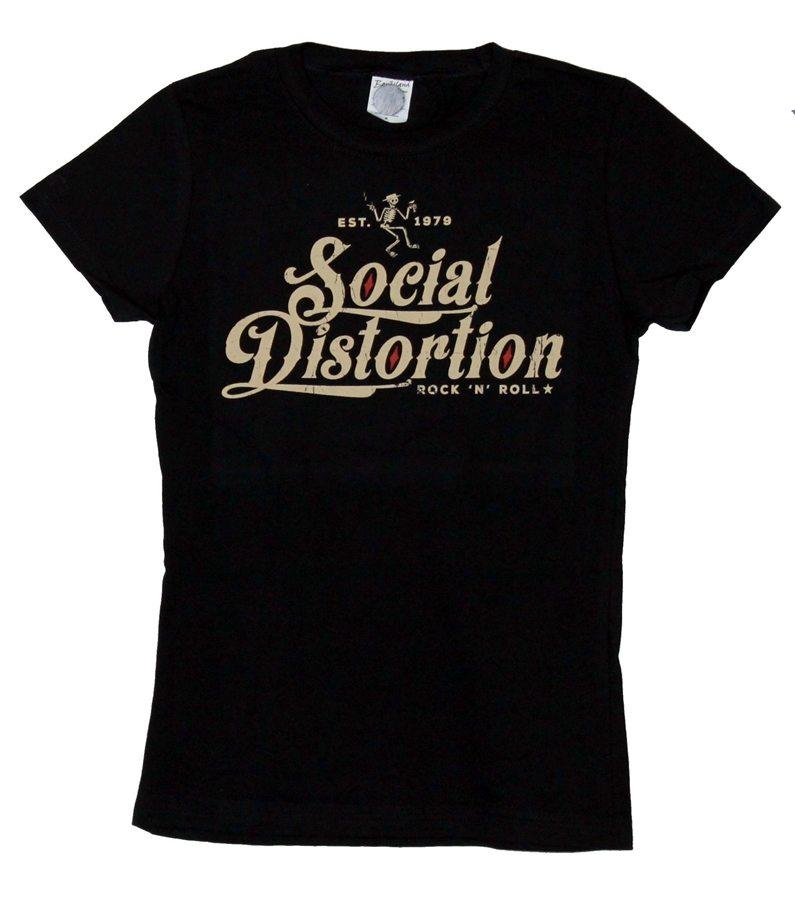 Social Distortion Rock'n Roll Juniors T-Shirt