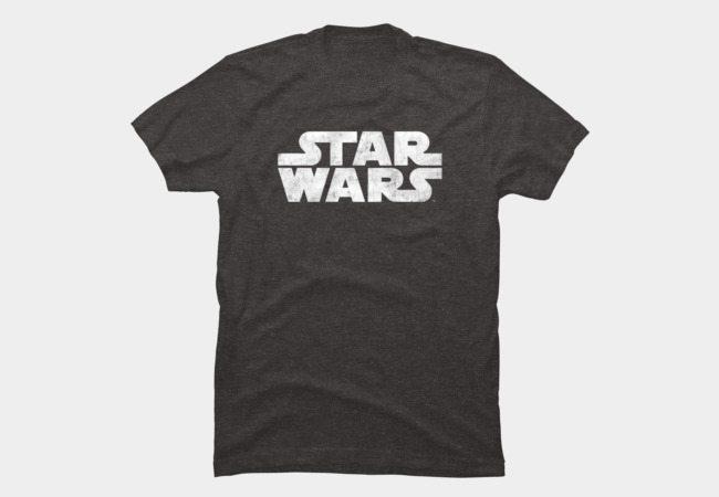 Star Wars Distressed Logo