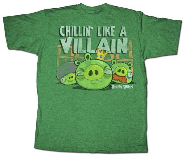 Angry Birds Chillin' Like a Villain
