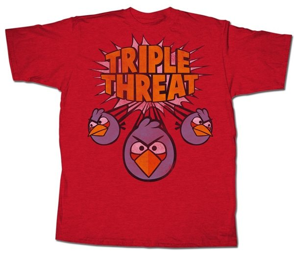 Angry Birds Triple Threat T-Shirt