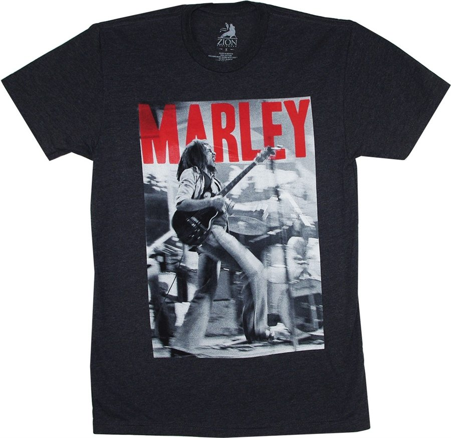 Bob Marley On Stage T-Shirt