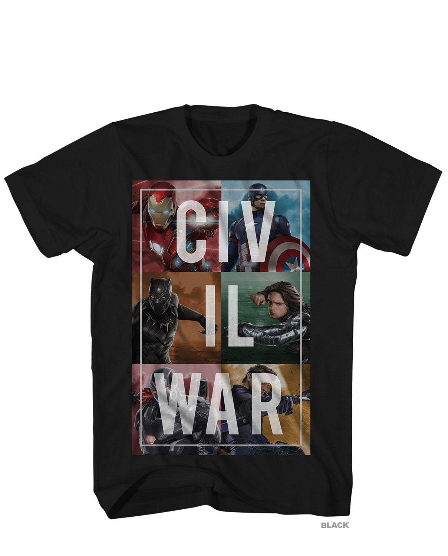 Captain America Civil War Split Up