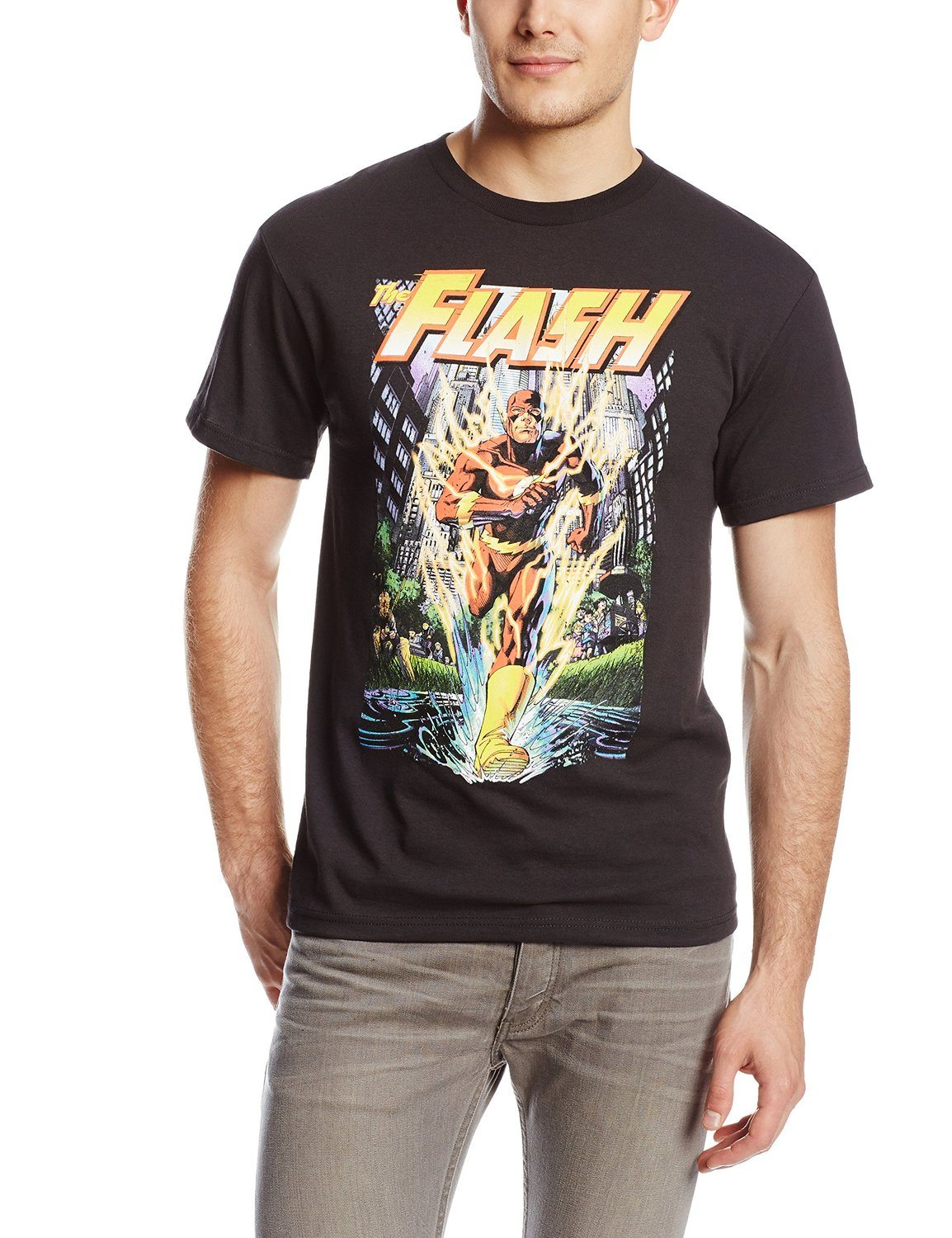 DC Comics The Flash City Run T-Shirt