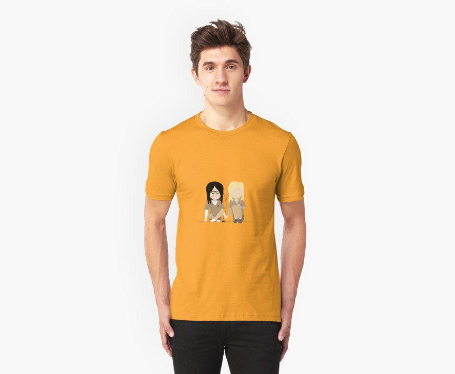 I Heart You – Alex and Piper Stylized Print