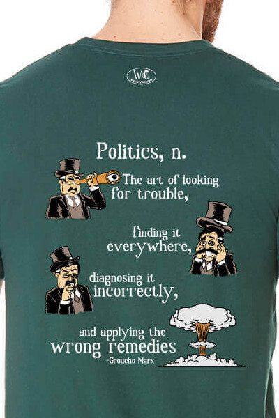 Groucho Marx on Politics