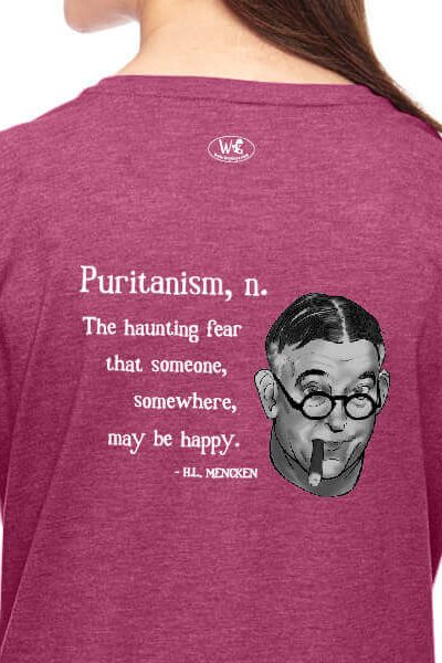H.L. Mencken on Puritanism