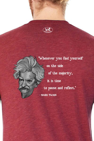 Mark Twain on the Majority
