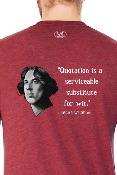 Oscar Wilde on Quotation