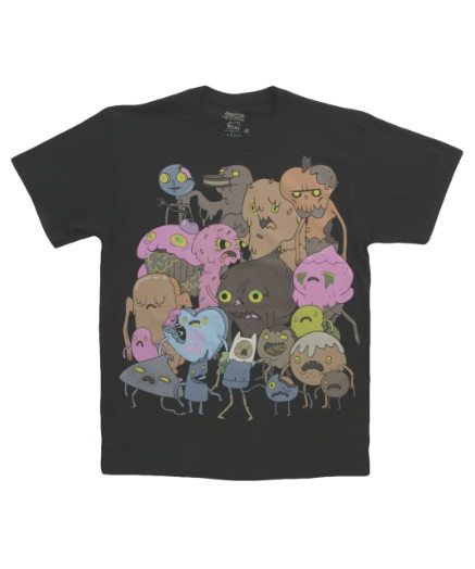 Adventure Time Zombie Group T-Shirt