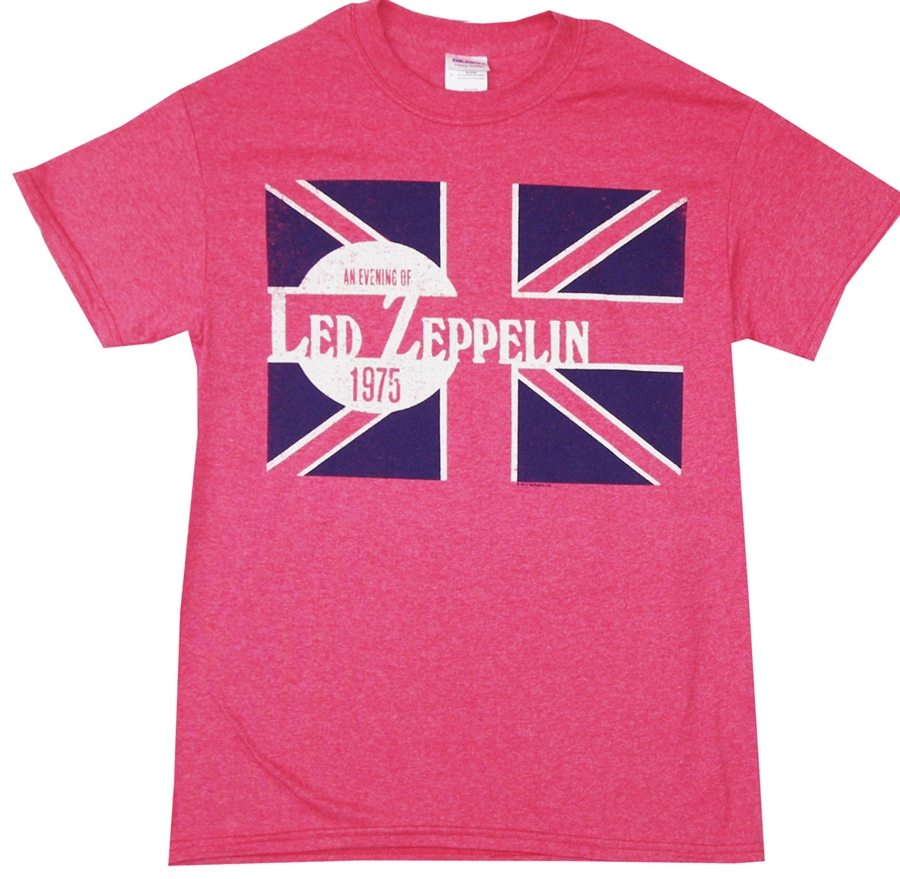 An Evening of Led Zeppelin 1975 in Red T-Shirt