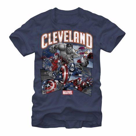 Avengers Cleveland Cavaliers Squad