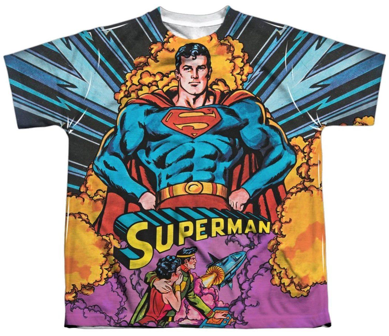 Blast Off Superman