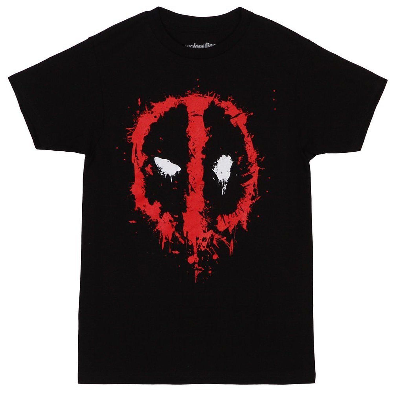 Deadpool Splatter Logo