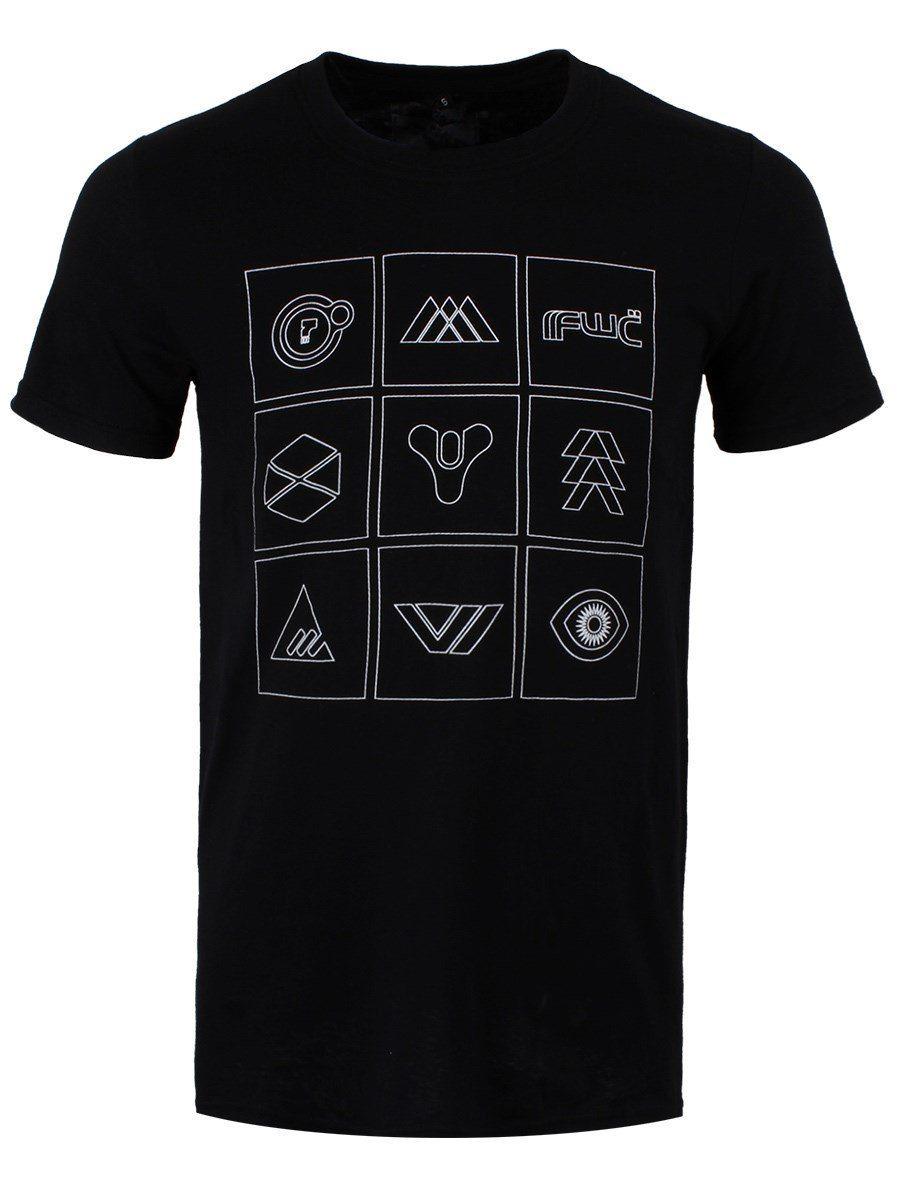 Destiny White Symbols Box Grid Large