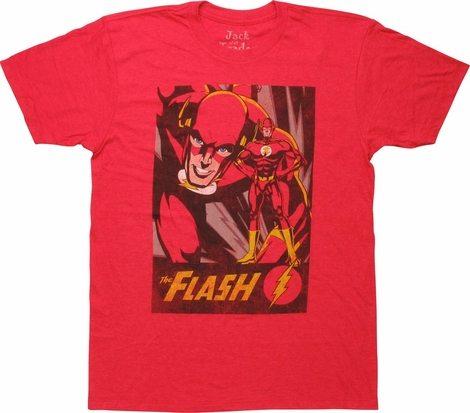 Flash Retro Square Name T-Shirt