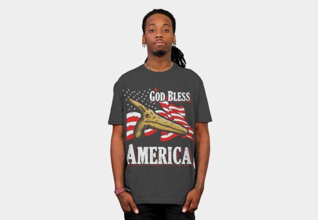 God Bless America (American Pterodactyl)