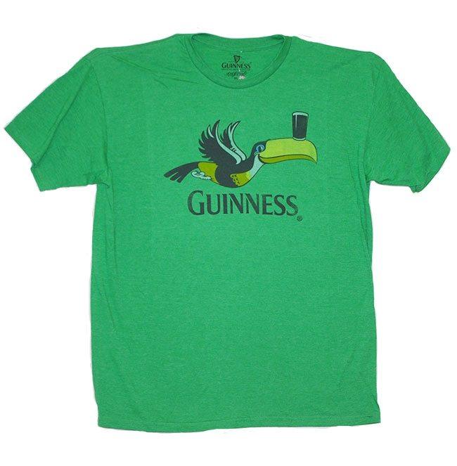 Guinness Stout Balanced by a Toucan T-Shirt