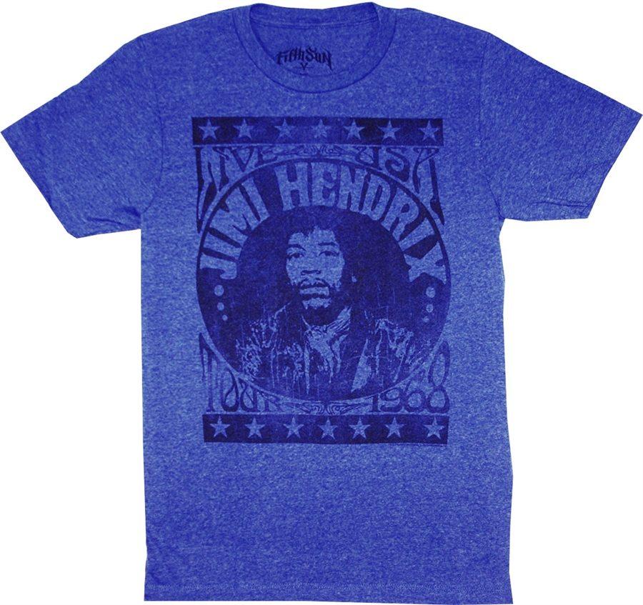 Jimi Hendrix Live USA Tour '68 T-Shirt